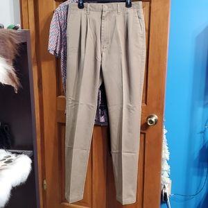 Wrangler Riata Khaki Pants Size 34x36
